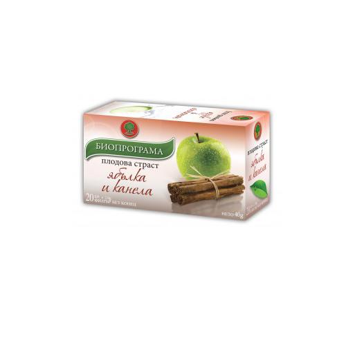 Чай Ябълка и канела Биопрограма