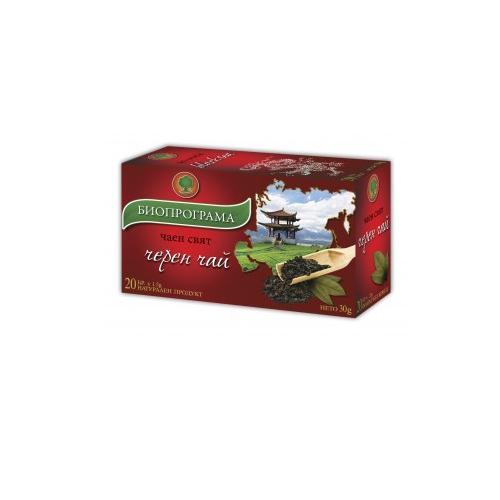 Черен чай Биопрограма