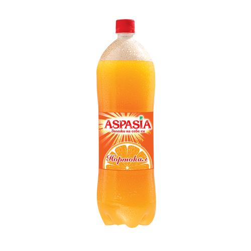 Аспазия Газирана напитка Портокал