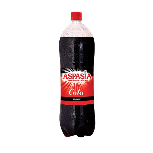 Аспазия Газирана напитка Кола