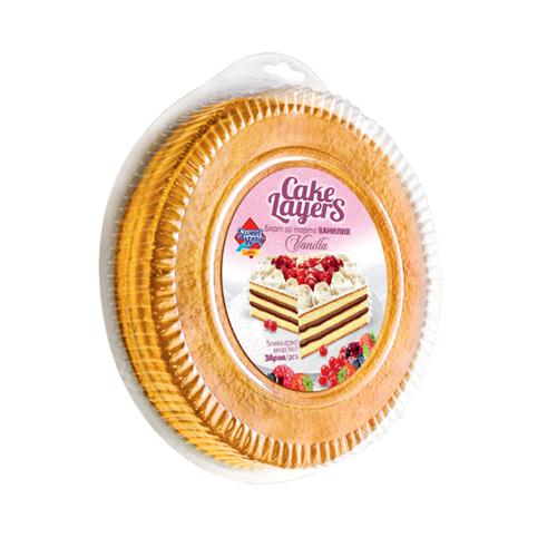 Блат за торта кръгъл-ванилия Сладък път