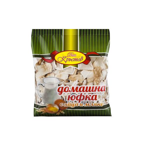 Юфка Домашна с яйца и мляко Кръстев