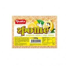 Локумена вафла Гроте Лимон