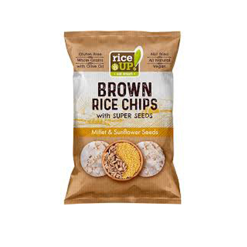 Оризов Чипс Просо и слънчоглед Rice Up