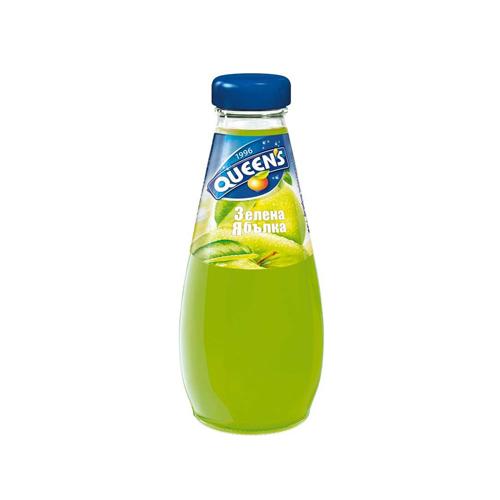 Куинс Стъкло Зелена ябълка