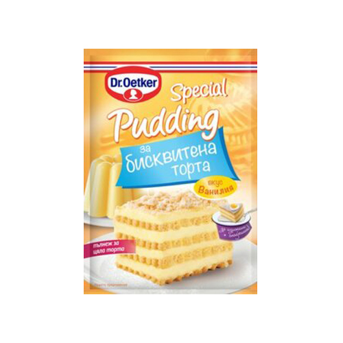 Пудинг Бисквитена торта Йоткер